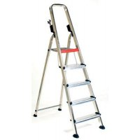 Professional aluminium safety steps with optional number of treads