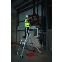 Telescopic Sturdy Aluminium Safety Platform