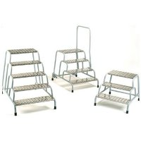 Industrial Machine Steps With Handrails Ideal For Accessing Machinery