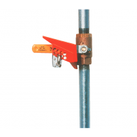 Ball valve lockouts for temporary immobilisation