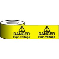 High Voltage Danger Warning Tapes