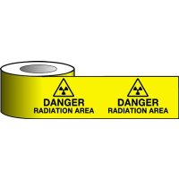 High-Visibility Radiation Area Warning Tape
