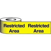 Strong Polyethylene Restricted Area Warning Tape