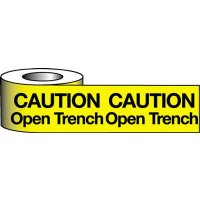 Highly-Visible Open Trench Warning Tape