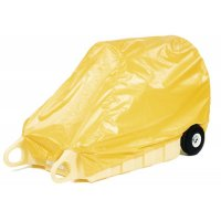 Protective Enpac poly-dolly vinyl cover