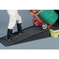 Enpac non-slip polyethylene drum spill pallet ramp