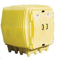 Leak-Proof Drum Storage Hazard Hut from Enpac