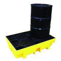 Enpac chemical-resistant polyethylene drum spill pallet