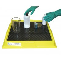 Easy to clean Enpac poly-lab tray