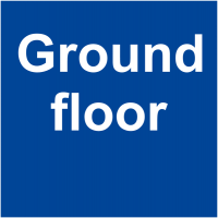 Tactile Braille Ground Floor Sign