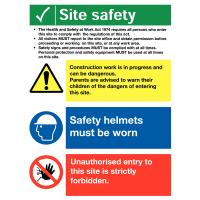 Complete Rigid Plastic Site Navigation Sign Pack