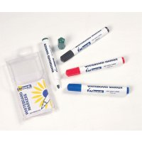 Colourful and versatile drywipe whiteboard markers