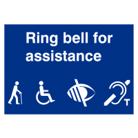 DDA Reception Signs for the Disabled