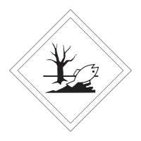 Durable and clear marine pollutant label