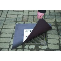 Magnetic Emergency Drain Cover for Hazardous Spills