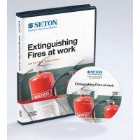 Extinguishing fires at work staff training DVD