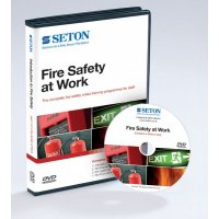 4 Pack of Fire Safety at Work DVDs