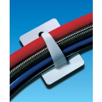 Self-Adhesive Bendable Steel Cable-Tidying Clips