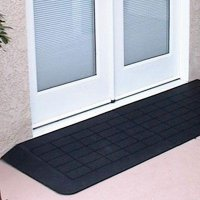 Neatedge tough recycled rubber access ramp