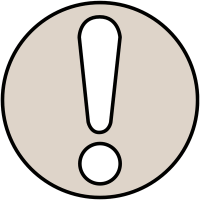 Highly Visible Warning Symbol Window Fix Sign