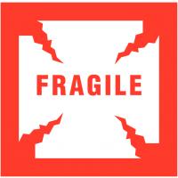 Self-Adhesive 'Fragile' Packaging Warning Labels