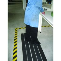 Heavy Duty Coarse Anti-Slip Strips For Extreme Manufacturing Environments