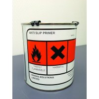 Adhesive anti-slip primer for floors
