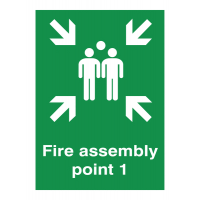 Anti-rust Fire Assembly Sign – Point 1