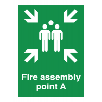 Weatherproof Fire Assembly Point A Aluminium Signs