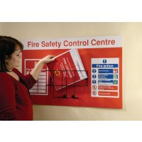 Seton Fire Safety Control Centre Unit With Steel Rack