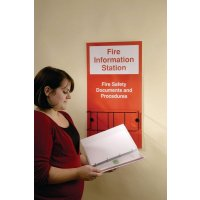 Robust and lightweight fire information station safety centres