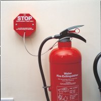 Tamper-Proof Extinguisher Stopper