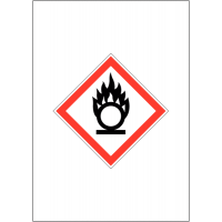 GHS COSHH Symbol Signs - Oxidising