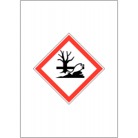 GHS COSHH Symbol Signs - Dangerous for the Environment