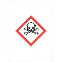 GHS COSHH Symbol Signs - Toxic