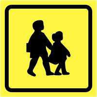 Reflective & Non-Reflective School Bus Signs