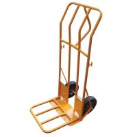 Heavy-Duty Steel Folding Sack Truck for Bulky Loads
