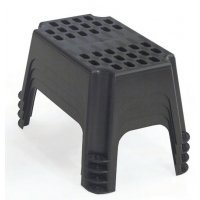 Stackable Plastic Step-Up with Non-Slip Feet