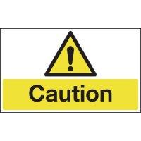 Anti-slip laminated cautionary floor signs