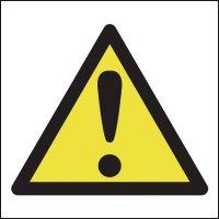 Versatile Universal Hazard Warning Symbol Sign