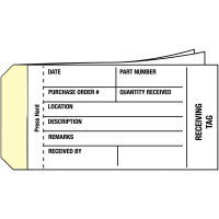 Inventory Tags For Part Distribution