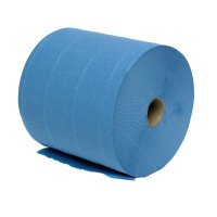 Highly absorbent 2-Ply Blue Mobi Roll