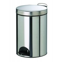 Stylish, Hard-Wearing Metal Pedal Bin
