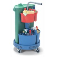 Flexible Housekeeping Carousel with extra caddies