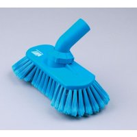 Angle-adjustable water-fed soft brush