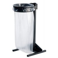 Free-Standing Waste Sack Holder with Tough Steel Frame