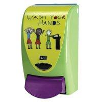 Soap dispensers thoughtfully designed for children