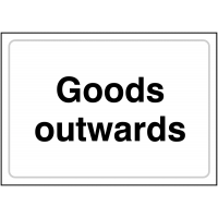 Highly Visual Goods Outwards Sign