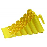 Plastic Wheel Chocks and Holders for Truck and Loading Bay Requirements