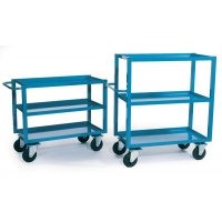 Easily Transportable Robust Tray Trolleys